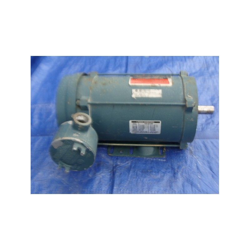 Reliance electric explosion proof motor p14h5694r for Explosion proof dc motor