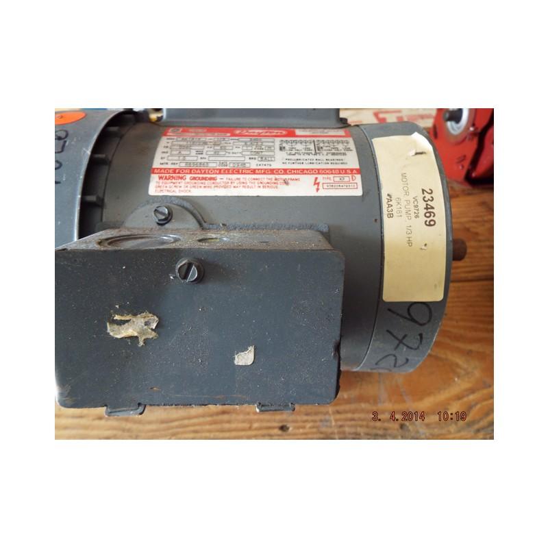 Dayton electric motor cw ccw wiring diagram single phase for Dayton capacitor start motor