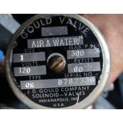 J.D. GOULD VALVE AIR & WATER D782339