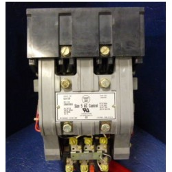 WESTINGHOUSE GCA-530 CONTACTOR SIZE5 200HP 600VAC