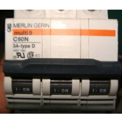 MERLIN GERIN BREAKER MULTI 9 C60 N