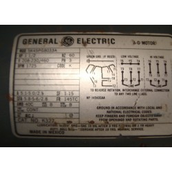 GENERAL ELECTRIC 5K45PG8033A
