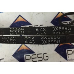 RESISTANT STATIC CONDUCTIVE A-43 2X699G