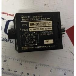 MULTI RANGE TIME DELAY RELAY ER-31