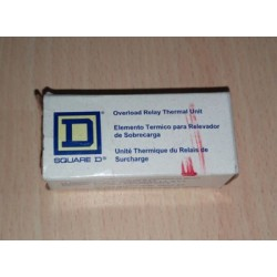 SQUARE D OVERLOAD RELAY THERMAL UNIT