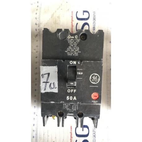 GENERAL ELECTRIC CIRCUIT BREAKER J3431