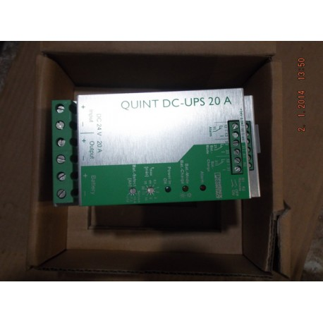 PHOENIX CONTACT QUINT DC-UPS-20A POWER SUPPLY - MotionSurplus