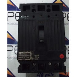 GENERAL ELECTRIC CIRCUIT BREAKER TED134020