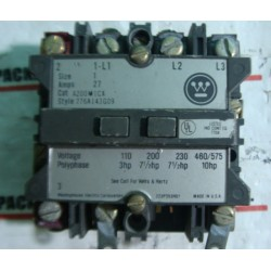 WESTINGHOUSE STARTER CONTACTOR RELAY A200MICXDM