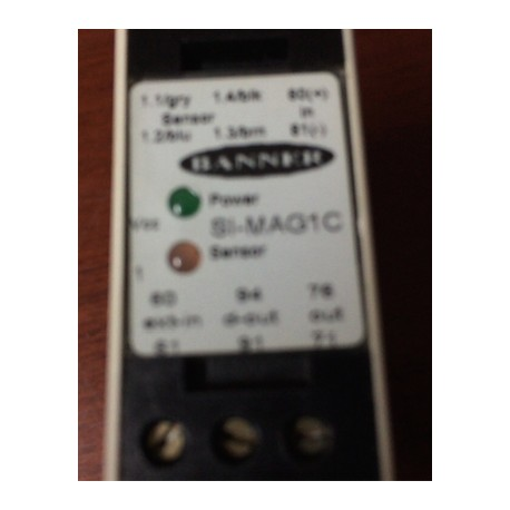 Banner SI-MAG1C Safety Interlock Relay