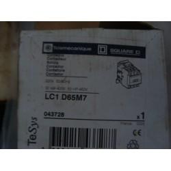 TELEMECANIQUE LC1-D65M7 CONTACTOR 600VAC 65AMP IEC