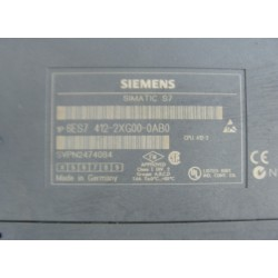 SIEMENS 6ES7-412-2XG00-0AB0 CPU412-272K+72KB 0.2