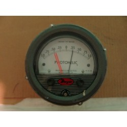 DWYER PHOTOHELIC PRESSURE SWITCH GAUGE INCHES OF WATER 25PSIG