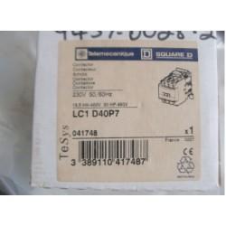 TELEMECANIQUE CONTACTOR LC1D40P7