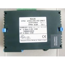 NAIS AFP0480 PLC ANALOG I/O 0-20MA