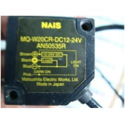 MATSUSHITA ELECTRIC MQ-W20CR-DC12-24V PHOTOELECTRIC SENSOR